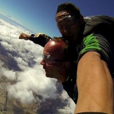 Tandem Sky Dive