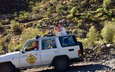 JEEP SAFARI ADVENTURE 4x4 GRAN CANARIA